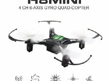 EACHINE H8 Mini Quadcopter Drone 2.4G 4CH 6 Axe RTF Mode 2 (Noir)