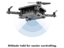 SMRC S1 Foldable Quadcopter Mini RC Drone Altitude Hold Headless Mode Aircraft&&