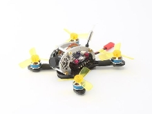LDARC Flyegg 5.8G Brushless OSD Cam RX2A PRO RX Mini FPV RC Racing Drone PNP