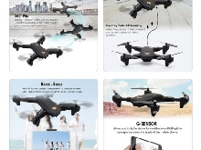 VISUO XS809HW Foldable 720P Wide Angle Camera FPV RC Drone with Two Batteries