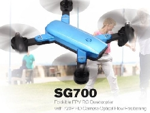 SG700 2.4G RC Drone Foldable Quadcopter with 720P HD Wifi FPV Camera RC drone DS