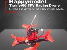 Happymodel Trainer66 Mini 66mm RC FPV Racing Drone Quadcopter PNP Version YOP