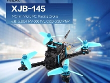 HGLRC XJB-145 145mm Micro RC Racing Drone 5.8G FPV 600TVL Camera CCD OSD PNPD DS