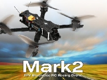 GEPRC Mark2 FPV Brushless RC Racing Drone Camera Full 3K Carbon Fiber  ZU