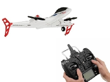 XK X520 6CH 3D/6G LED Light RC Airplane Drone Vertical Takeoff Land Delta W FR