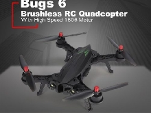 MJX Bugs 6 B6 2.4GHz RTF Drone High Speed 1806 Motor Brushless RC Quadcop FR