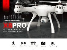 Syma X8PRO 720P Wifi Camera FPV Realtime GPS Positioning RC Drone Quadcopter XM