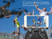 VISUO XS809S RC Drone Wide Angle 720P Camera Altitude Hold Quadcopter pieghevole