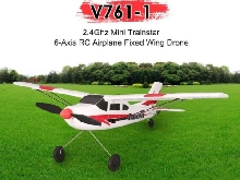 VOLANTEX V761-1 2.4Ghz 3CH Mini Trainstar 6-Axis RC Airplane Fixed Wing Drone