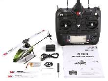 XK K100 6CH 3D 6G System Mini RC Helicopter Drone with Built in Gyro RTF NS