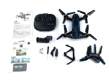 Folding Drone 1080P Camera APP Remote WiFi Maintaining Altitude Quadcopter NX