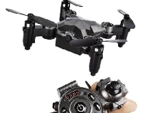 Portable Remote Control Watch Style 2.4G 0.3MP Wifi Mini Foldable Drone New