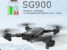 SG900 Drone FPV Mini Quadcopter 720P RC Caméra HD mini pliable Quadcopter WiFi