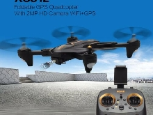 XS812 Foldable GPS Quadcopter RC Drone with 2MP HD Camera WiFi+GPS Aircraft P#