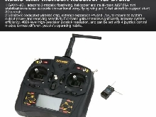 Detrum GAVIN-6C 2.4G 6CH Transmitter Radio with MSR66A Receiver for Drone P#