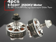 SUNNYSKY E-R2207 3-4S 2580KV Lightweight CCW/CW Brushless Motor for RC Drone W1