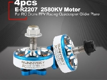 SUNNYSKY E-R2207 3-4S 2580KV Lightweight CCW/CW Brushless Motor for RC Drone P#