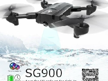SG900 Foldable Quadcopter 720P Drone FPV Optical Flow Positioning RC Drone P#