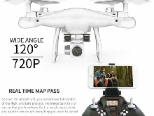 SMRC S10 6 Axles Gyro Mini Drone With 720P HD Camera 2.4G Altitude Hold P#