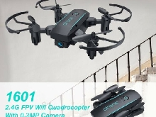 Foldable Mini Drone with 0.3MP Camera 2.4G RC Drone FPV Wifi Quadrocopter P#