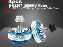 SUNNYSKY E-R2207 3-4S 2580KV Lightweight CCW/CW Brushless Motor for RC Drone CX