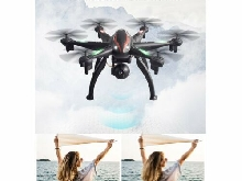 L100 6-Axis 1080P Wide Angle 2.4G RC Drone Quadcopter Aircraft WiFi FPV GPS P#