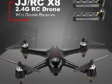 JJR/C X8 2.4G 5G WiFi FPV 1080P Brushless Motor GPS RC Drone Double Batteries DB