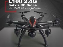 AU!!!L100 RC Drone 6-Axis Aircraft with 5G WIFI 1080P HD Camera FPV  MI
