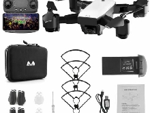 SMRC S20 RC Drone Foldable Quadcopter with FPV WIFI 1080P HD Camera  SelfSK