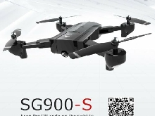 SG900-S RC Foldable Smart Selfie GPS Drone 720P HD Camera Altitude Hold MI