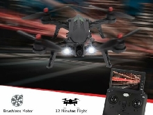 MJX Bugs 6FD 2.4G RTF Drone With 5.8G 720P FPV Camera RX Monitor RC Quadcopte MI