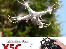 X5C-1 2.4Ghz 6-Axis Gyro RC Quadcopter Drone with HD Camera Drone 2MP