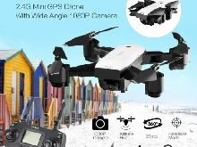 SMRC S20 FPV Drone RC Quadrocopter With 1080P Camera Folding RC Helicopter