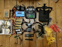 RTF Drone Racer Realacc TCR-220 Frame + Transmitter and Big BUNDLE