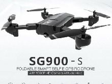 SG900-S RC Foldable Smart Selfie GPS Drone 1080P HD Camera Altitude Hold TE