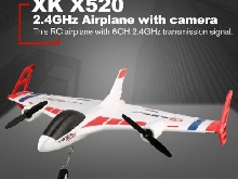 XK X520 6CH 3D/6G 720 FPV Camera RC Airplane Drone Vertical Takeoff Land Drone??