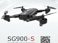 SG900-S RC Foldable Smart Selfie GPS Drone 720P HD Camera Altitude Hol M?~