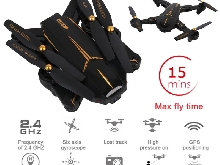 RC XS812 GPS 5G WiFi FPV 5MP 1080P HD Caméra Pliable Drone Quadcopter
