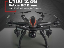 AU!!!L100 RC Drone 6-Axis Aircraft with 5G WIFI 1080P HD Camera FPV?U3~