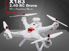 X183 2.4G RC Drone Headless Mode Altitude Hold One Key Return Quadrocopter P#