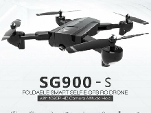 SG900-S RC Foldable Smart Selfie GPS Drone 1080P HD Camera Altitude Hol?N5@