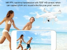 SJ R/C GPS FPV 720P Camera Drone Altitude Hold Headless Mode RC Quadcopter P#