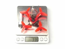 Happymodel Trainer66 Mini 66mm RC FPV Racing Drone Quadcopter PNP Version P#