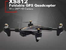 XS812 Foldable GPS Quadcopter RC Drone with 2MP HD Camera WiFi+GPS Aircr MZ