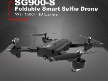 SG900-S RC Foldable Smart Selfie GPS Drone 1080P HD Camera Altitude H MZ