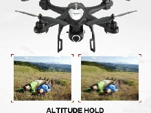 SJ R/C S30W 1080P Adjustable Wide Angle Camera Dual GPS FPV RC Drone Hovering SC