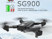 SG900 Foldable Quadcopter 720P Drone FPV Optical Flow Positioning RC Dronegh