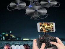 X183 Wifi Drone With 2MP HD Camera GPS Brushless Quadcopter 6-Axles RC TT?