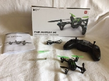 THE HUBSAN X4 H 107C MINI DRONE 2.4 GHZ  4 CHANNEL VIDEO RECORDING AGE 14+