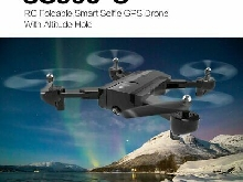 SG900-S RC Foldable Smart Selfie GPS Drone 720P HD Camera Altitude Hold TY